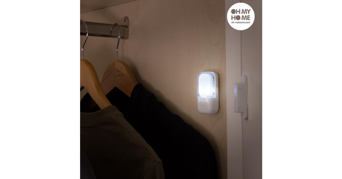 BigBuy Home - LED con Sensore di Contatto Oh My Home